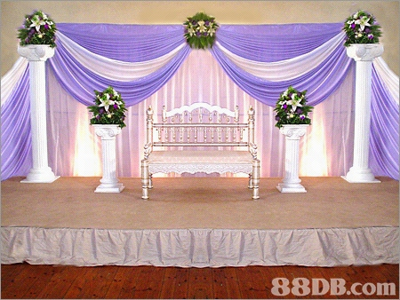 Church Marriage ceremony Decorations For An Entryway Weddingdecotartion